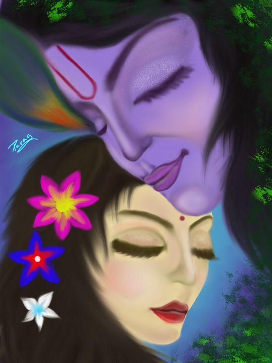 Krishna Radha - Paragarts