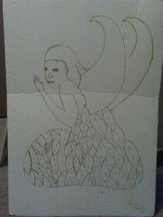 Crafted praying Angel - Intelligent Queen's Arts and Crafts