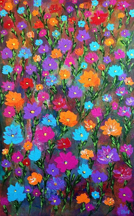 Colorful Blossom - TanyaSunart