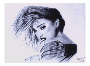 Madonna in blue
