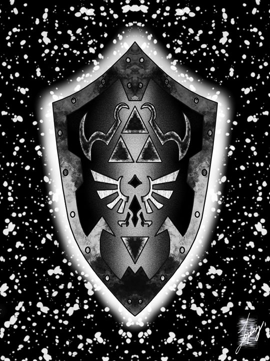 Link's Shield - Rodrigo Lopez Rodriguez
