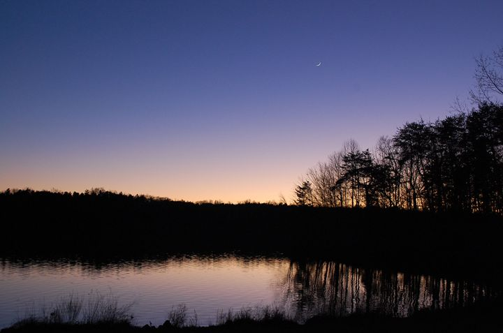 Pond Silhouette - Cornerstone Images Photography