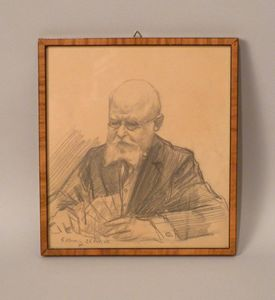 Hennig - Old man playing cards