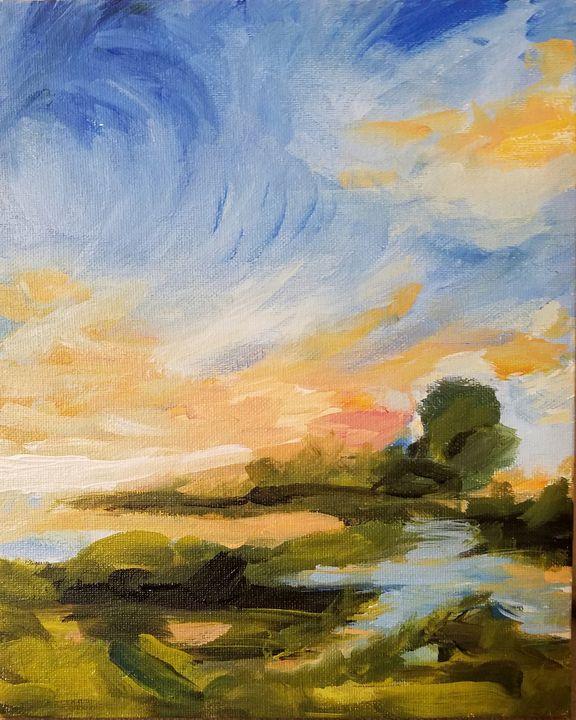 Landscape II - Ori Fine Art