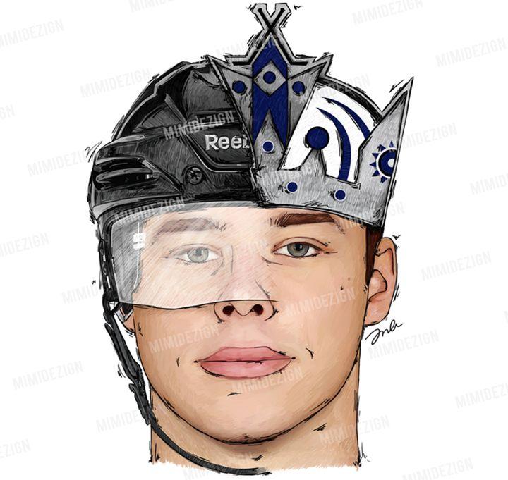 NHL LA Kings Dustin Brown - MimiDezign