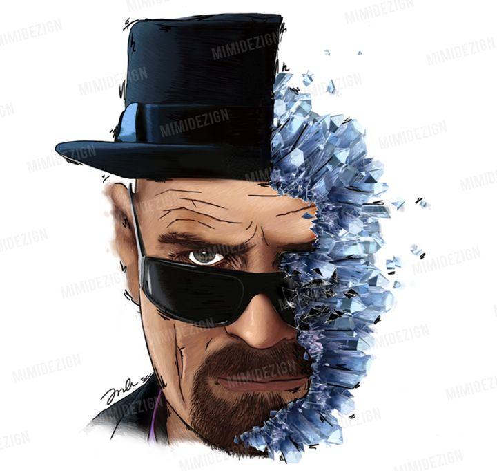 AMC's Breaking Bad Walter White - MimiDezign