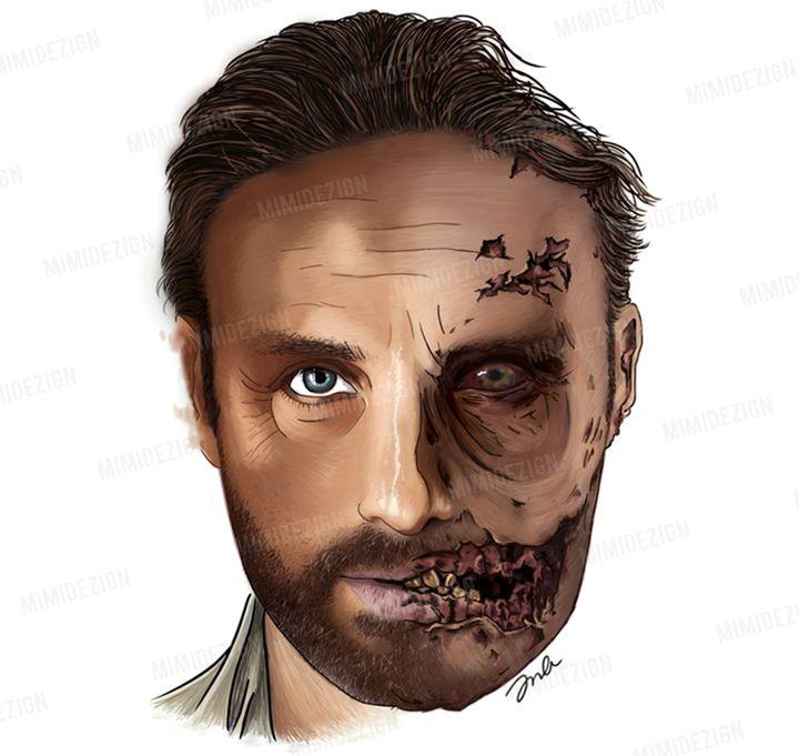 AMC's The Walking Dead Rick Grimes - MimiDezign