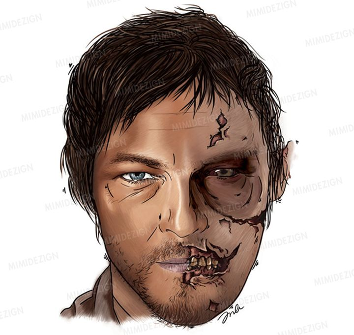 AMC's The Walking Dead Daryl Dixon - MimiDezign
