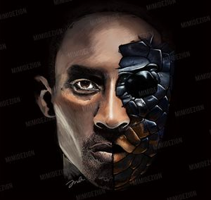 NBA Los Angeles Lakers Kobe Bryant - MimiDezign