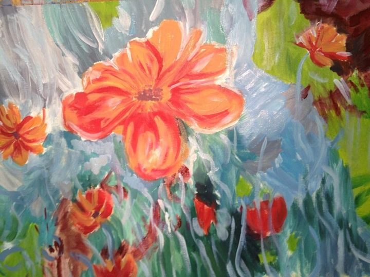 Red flowers - Inga Bless's Gallery