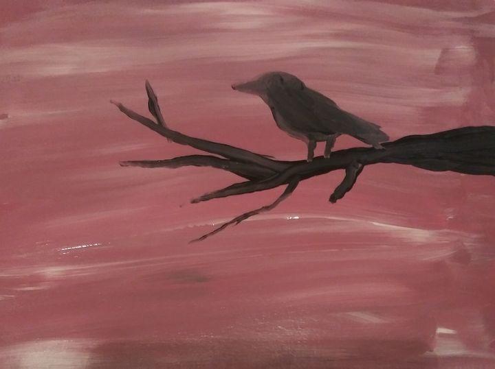 Silhouette of a bird - Kaitlynn T.
