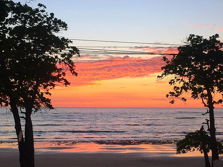Playa Manzanillo Sunset - Ann Smith
