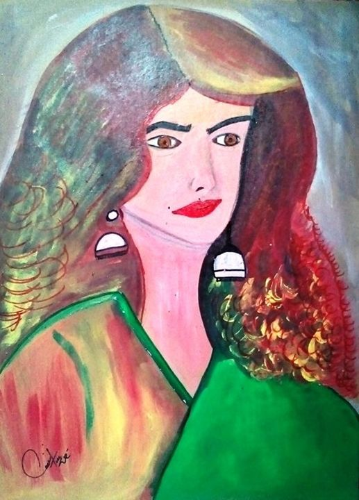 Oil on Sheet - Q.i.Z Art Collection