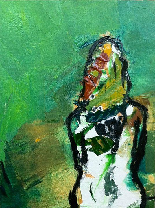 Abstract Lady - Noyonika Nath