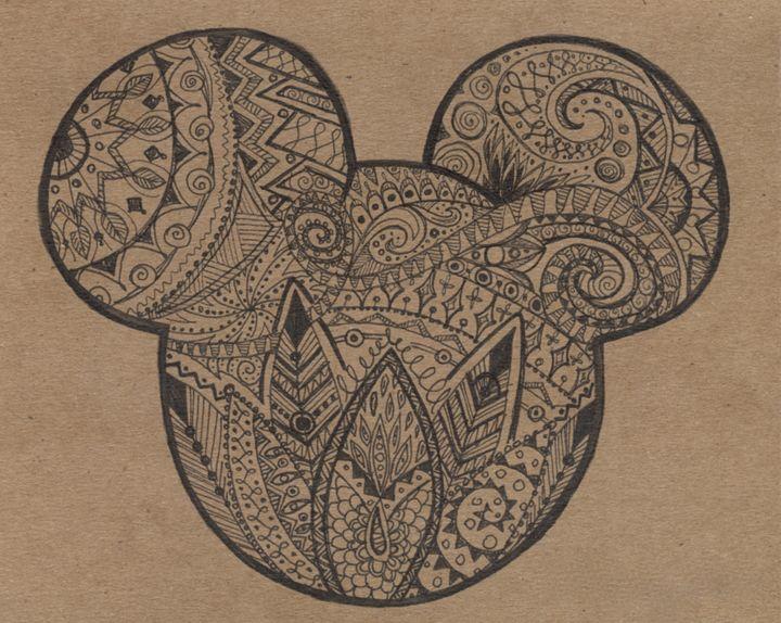 Designer Mickey - Natalie Zappone's Art