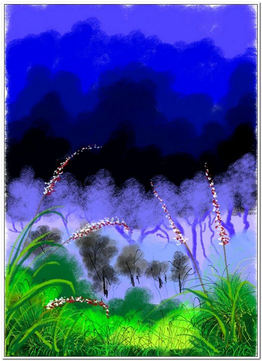 Stunning Scenary#009 - Abstract Paintings