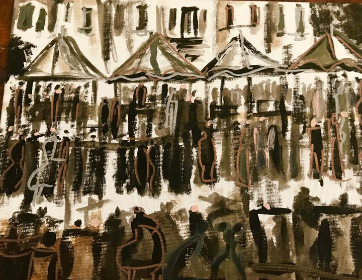 A Day At The Market - Art of David Dinkins