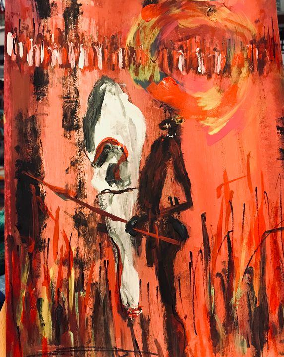 Young Worrier - Art of David Dinkins