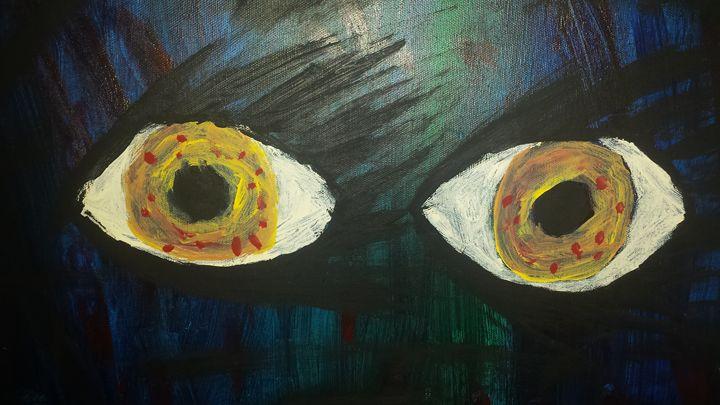 Dark eyes - Smallinfinity - Paintings & Prints, Religion, Philosophy