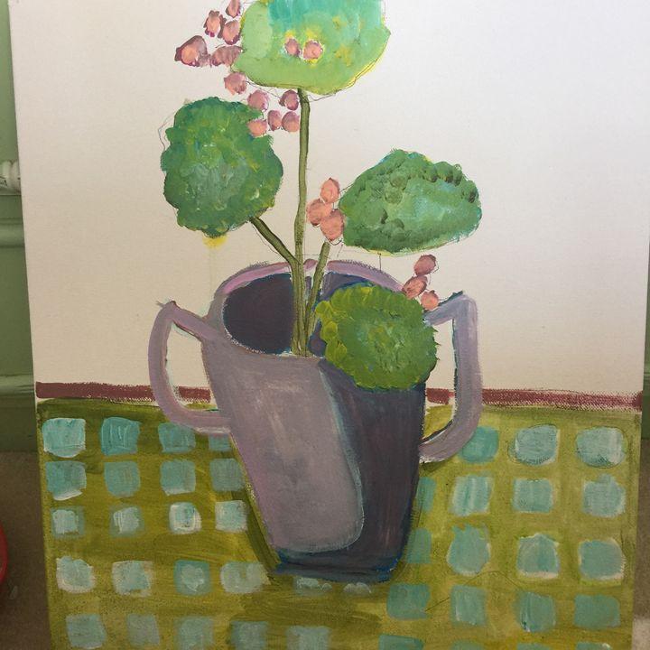 Geraniums - Gaye collins