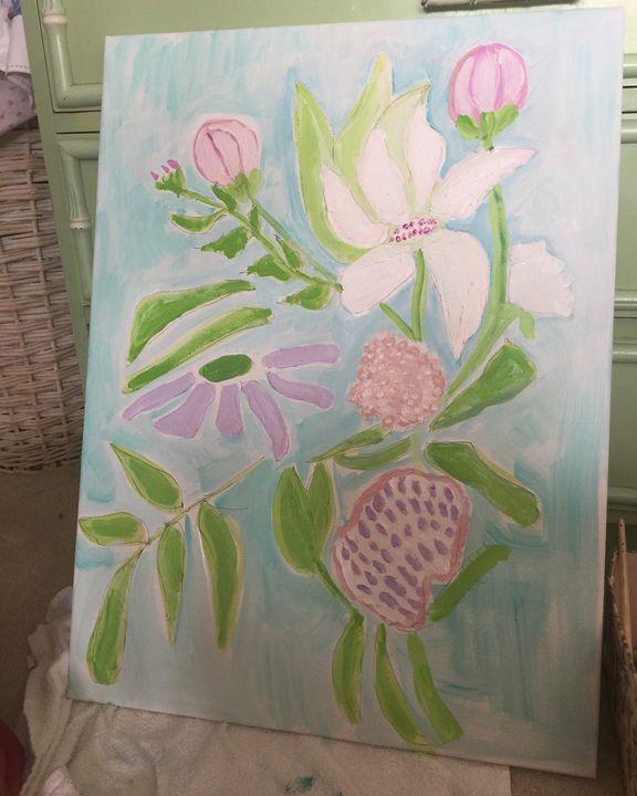 Spring Flowers - Gaye collins