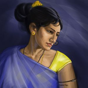 Indian traditional woman