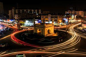 Bahadurabad Chowrangi, Karachi