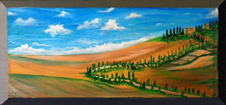 A Slice of Italy - Kirby Lewis, West Virginia Artist