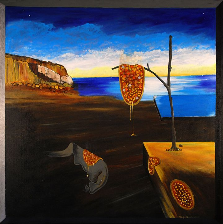 The Persistence of Melted Cheese - Kirby Lewis, West Virginia Artist