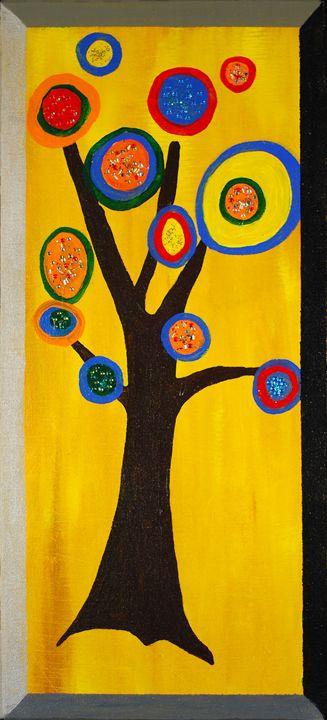 K's Pizza Tree - Kirby Lewis, West Virginia Artist