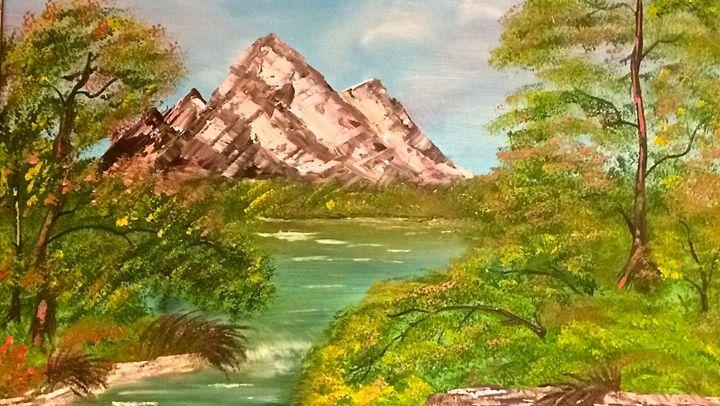 Mountain in the Spring - Zuzanna Rak