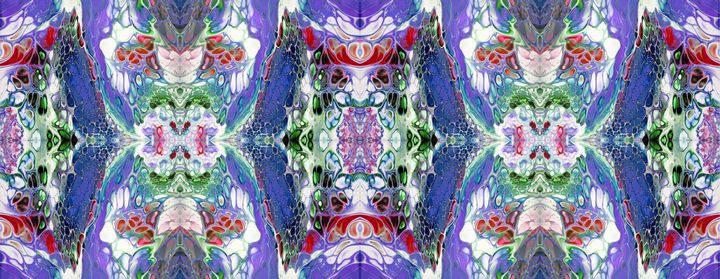 Blue-Violet Eagle Kalleidoscope - Chrysi Meramveliotaki
