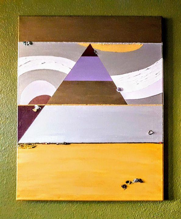 Purple Haze - Louis Vasquez Art Gallery