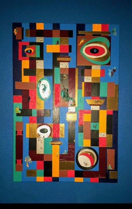Industrial Playground - Louis Vasquez Art Gallery