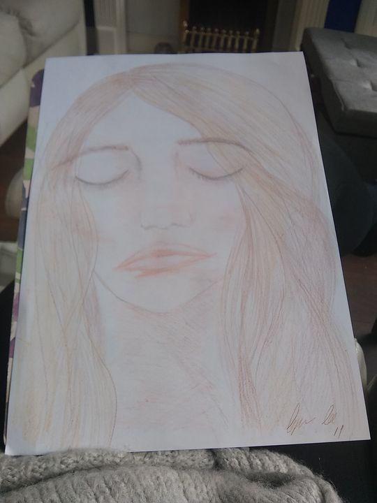 Sleeping no 1 - Lorraine lee