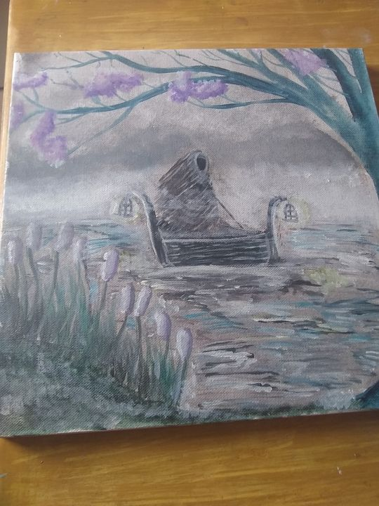 River and the ferryman - Lorraine lee