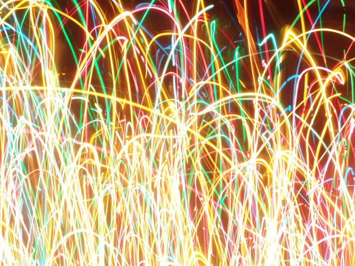 Colored Lights 2 - Toki Hernández