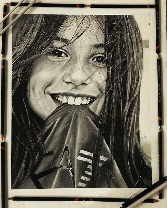 Girl sketch - Dr.Apurvage_arts
