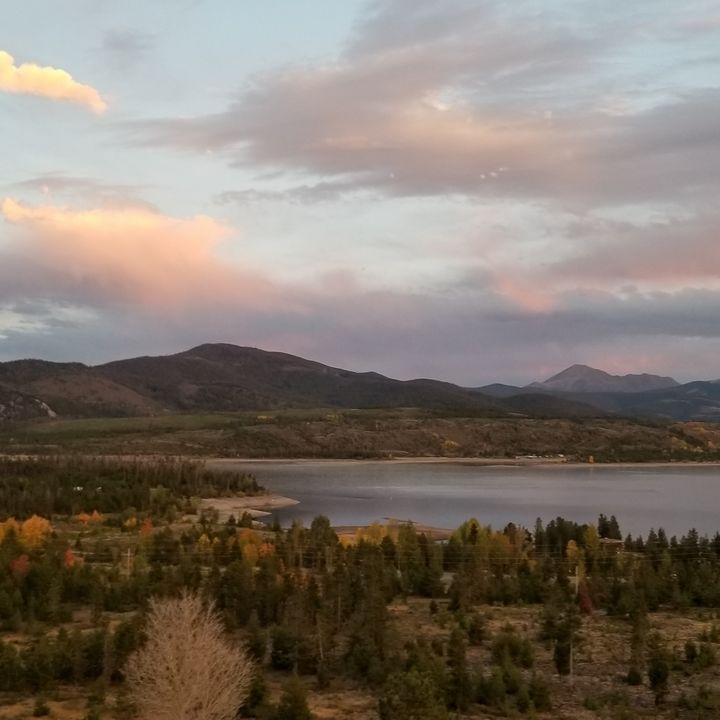 Colorado Mountain Sunset - Jeweltea Photography