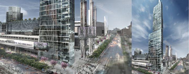 Urbanism Concept - NapkinSketch Art