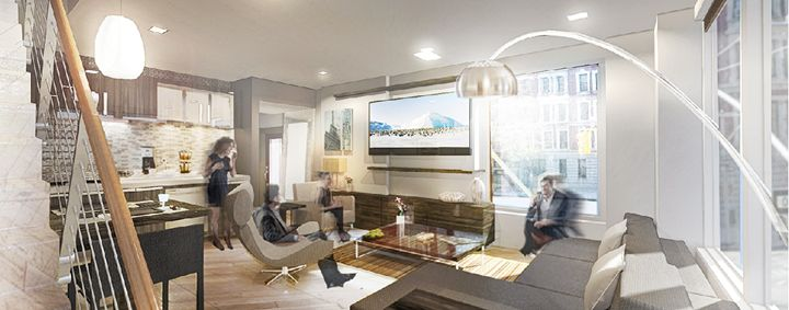 Interior Living Room Concept Renderi - NapkinSketch Art