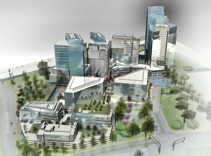 Urban Design Concept - NapkinSketch Art