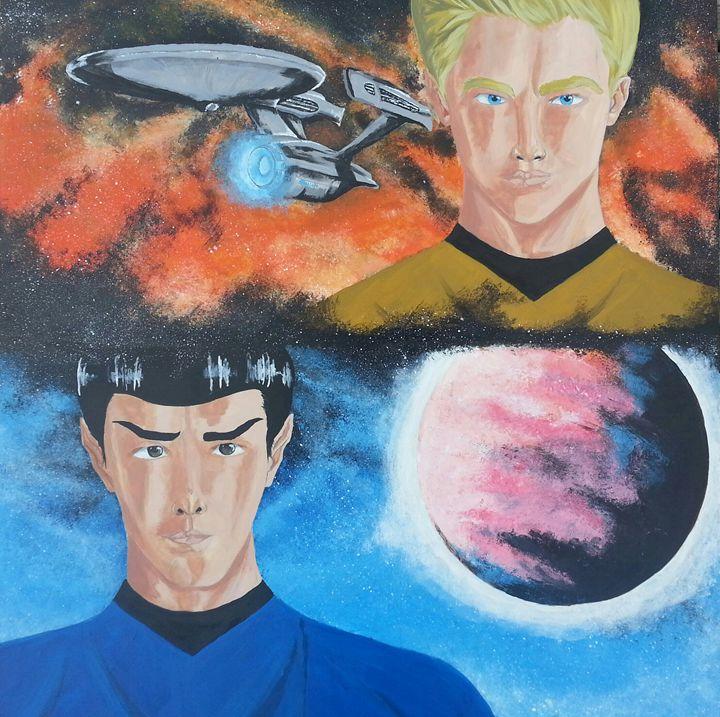 Spock & Kirk - Jeriah Israel