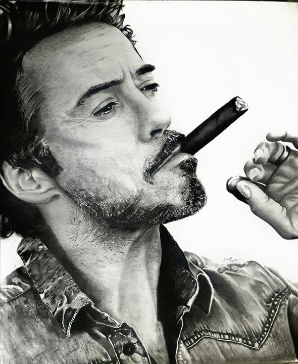 Robert Downey Jr - Sketches by Shashi Suman