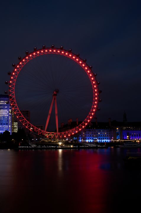 Night at the London Eye - Zora Marie