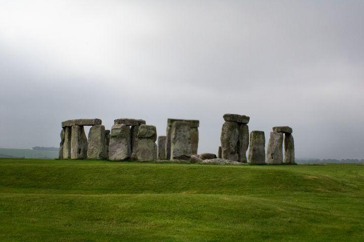 Peace at Stonehenge - Zora Marie