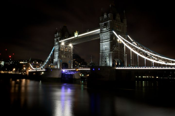 Night at the Tower Bridge - Zora Marie