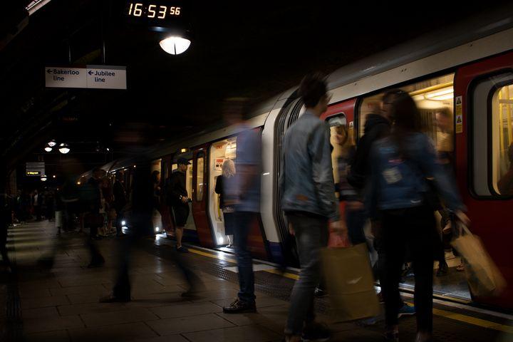 London Underground - Zora Marie