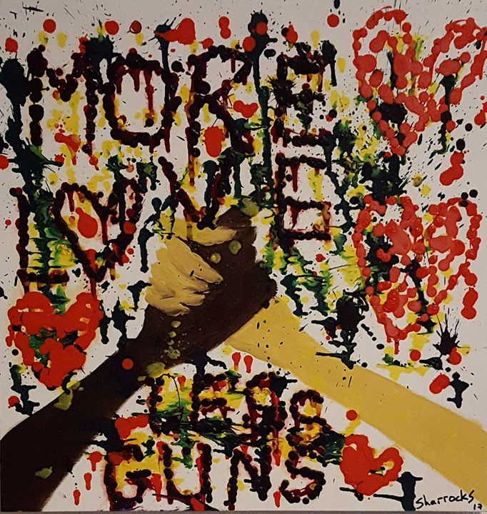 More Love Less Guns 2 - Andy Sharrocks