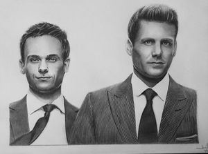 Suits: Harvey Specter & Mike Ross